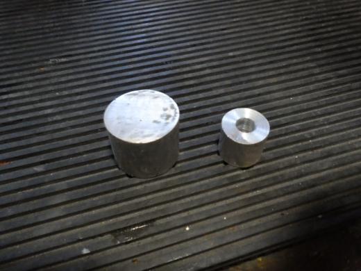 アルミ溶接テスト (2)