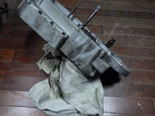 ⑭洗浄とクランクはめ込み (3)