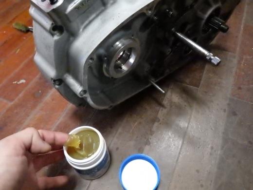 ⑭洗浄とクランクはめ込み (5)
