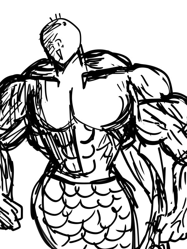 筋肉増強剤を使ったBori魚