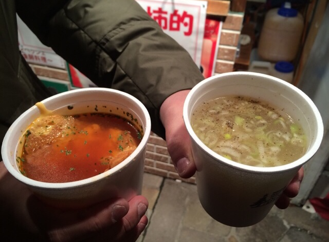 2015 はこだてクリスマスファンタジー スープ