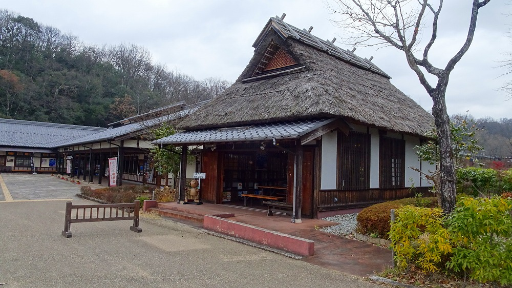 日本昭和村と道の駅 美濃白川ピアチェーレ (2015年12月)