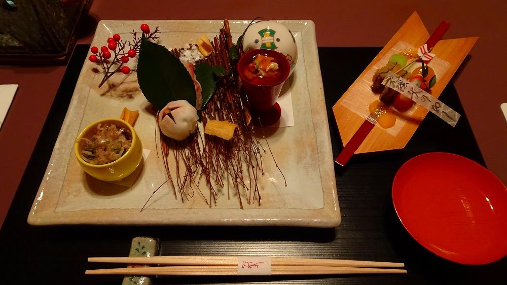 今宵天空に遊ぶ しょうげつ 食事編 (2015年12月)