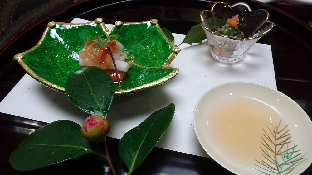 山神温泉 湯之元館 夕食編 (2016年2月)