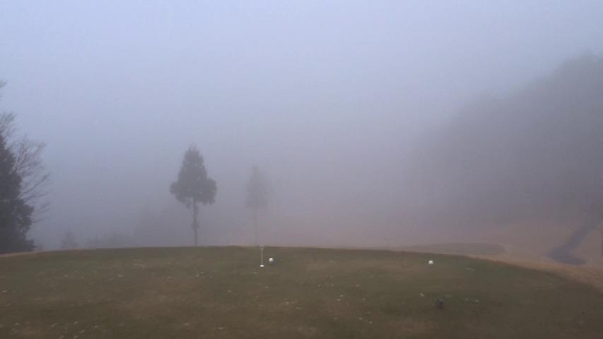 美濃白川ゴルフ倶楽部 飛水峡コース (2015年12月)